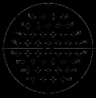 Y27A Contact arrangement 52 - Y27 Series Circular Connector