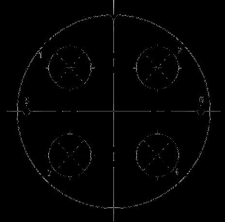 Y27C Contact arrangement 102 - Y27 Series Circular Connector