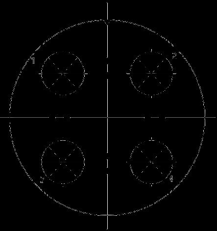 Y27C Contact arrangement 99 - Y27 Series Circular Connector