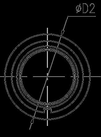 Y3 Drawings Circular Flange receptacle - Y3 Series Circular Connector
