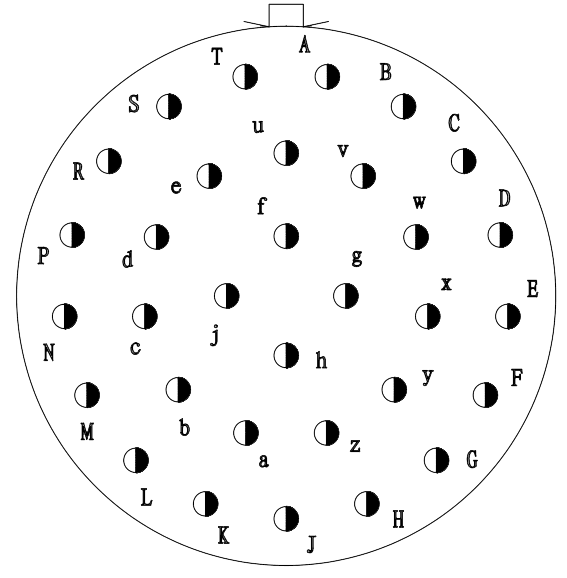 YQ2 Contact arrangement 1832