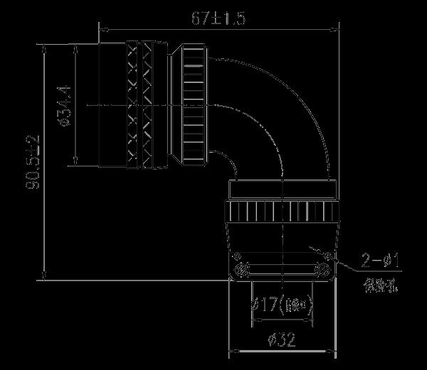 YQ2 drawings 18 shell bent plug