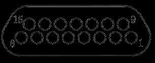 j29a Contact arrangements 15 - J29A Series Rectangular Connector