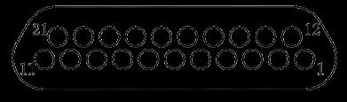 j29a Contact arrangements 21 - J29A Series Rectangular Connector