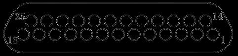 j29a Contact arrangements 25 - J29A Series Rectangular Connector