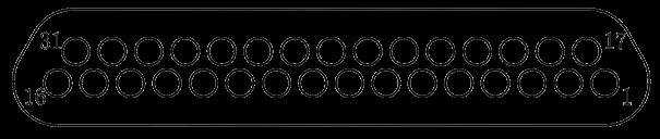 j29a Contact arrangements 31 - J29A Series Rectangular Connector