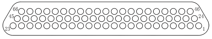 j29a Contact arrangements 66 - J29A Series Rectangular Connector