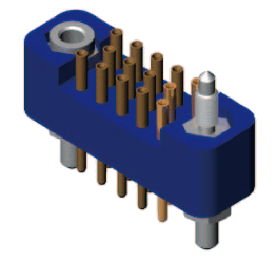 j43 1 - J43 Series Rectangular Connector