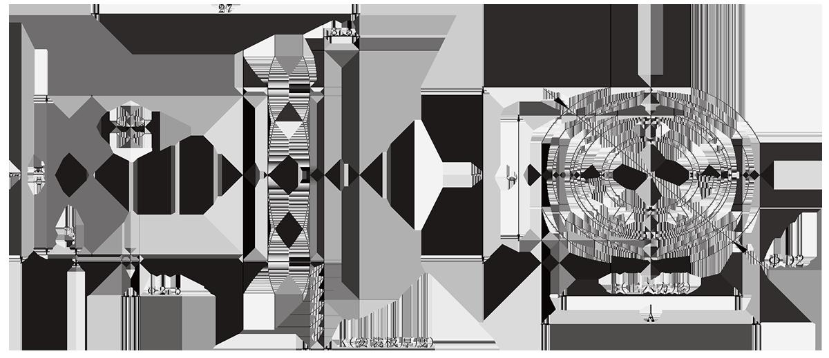 y11 Nut mounting Receptacle - Y11 Series Circular Connector