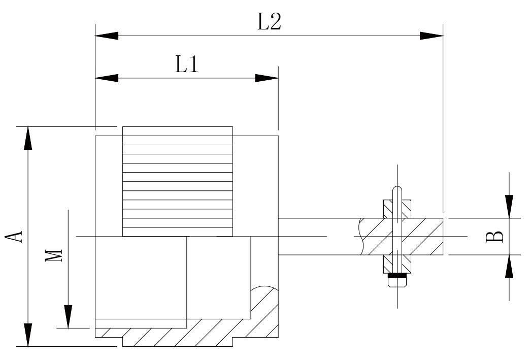 y11 Open long cable cover Y11 ××OO 85 - Y11 Series Circular Connector