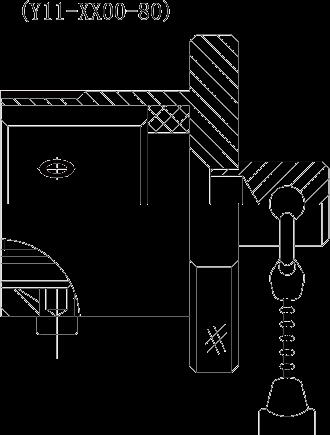 y11 Plug metal dust cover - Y11 Series Circular Connector