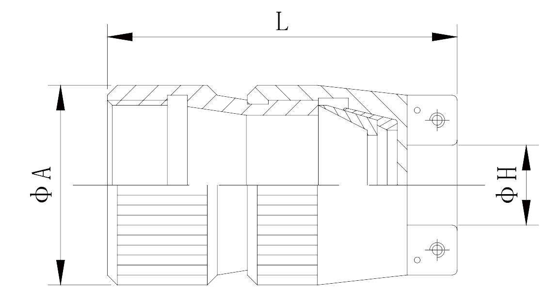 y11 Shielded cable cover Y11 ××OO 86 - Y11 Series Circular Connector
