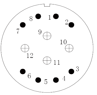 y11 contact arrangement 06 - Y11 Series Circular Connector