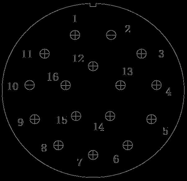 y11 contact arrangement 28 - Y11 Series Circular Connector