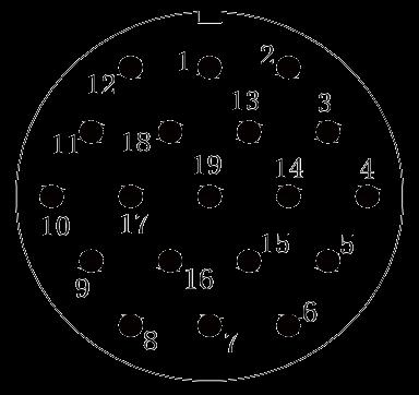 y11 contact arrangement 38 - Y11 Series Circular Connector