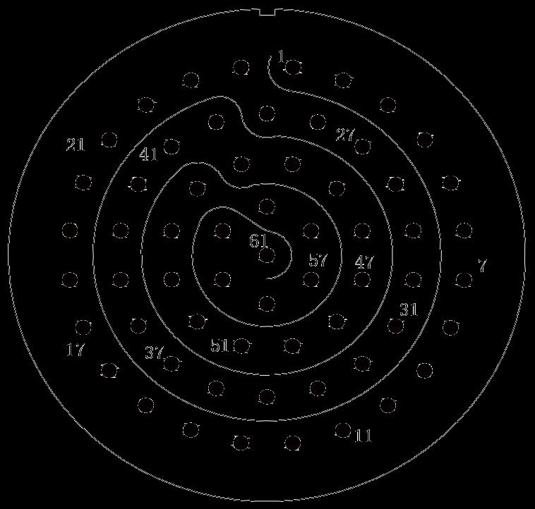 y11 contact arrangement 46 - Y11 Series Circular Connector