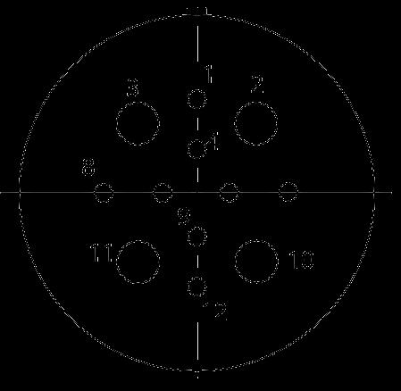 y17 contact arrangement 2019 - Y17 Series Circular Connector
