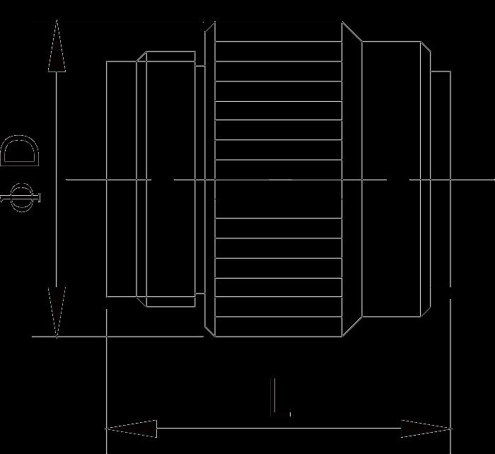 y17 dimension plug - Y17 Series Circular Connector