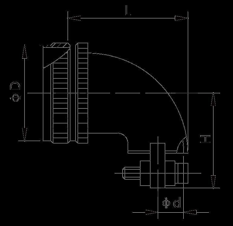 y17 dimension right angle cable cover - Y17 Series Circular Connector