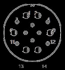yp contact 27 - YP Series Circular Connector