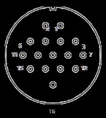 yp contact 28 - YP Series Circular Connector