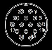 yp contact 30 - YP Series Circular Connector