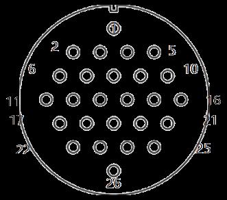 yp contact 34 - YP Series Circular Connector