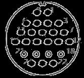 yp contact 37 - YP Series Circular Connector