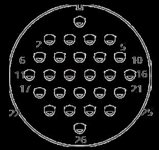 yp contact 38 - YP Series Circular Connector