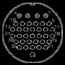 yp contact 39 - YP Series Circular Connector