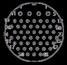 yp contact 40 - YP Series Circular Connector