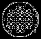 yp contact 41 - YP Series Circular Connector