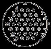 yp contact 42 - YP Series Circular Connector