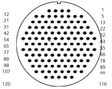 yp contact 44 - YP Series Circular Connector