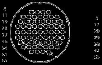 yp contact 45 - YP Series Circular Connector